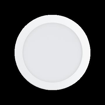 Встраиваемая светодиодная панель Eglo Fueva 1 94066, LED 18W 4000K 2080lm CRI>80, белый, металл с пластиком, пластик