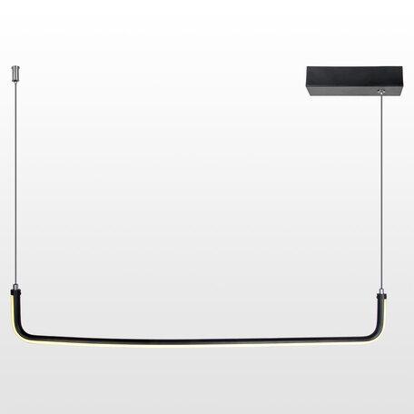 Светодиодный светильник Lussole Loft Cass LSP-8427, IP21, LED 12W, черный, черный с белым, белый с черным, металл, металл с пластиком, пластик с металлом