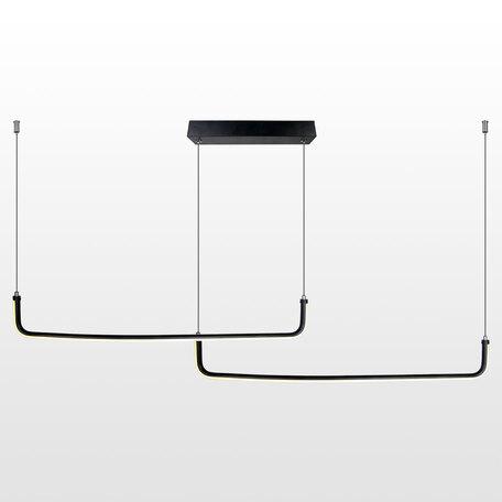 Светодиодный светильник Lussole Loft Cass LSP-8428, IP21, LED 24W, черный, черный с белым, белый с черным, металл, металл с пластиком, пластик с металлом