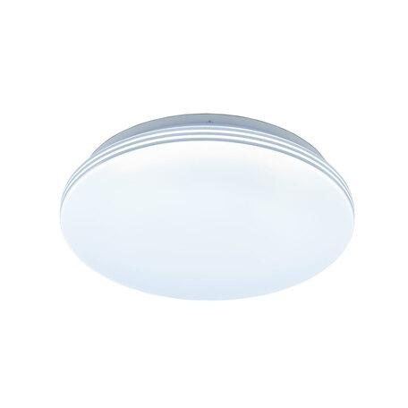 Потолочный светодиодный светильник Citilux Симпла CL714R18N, LED 18W 4000K 1300lm, белый, пластик