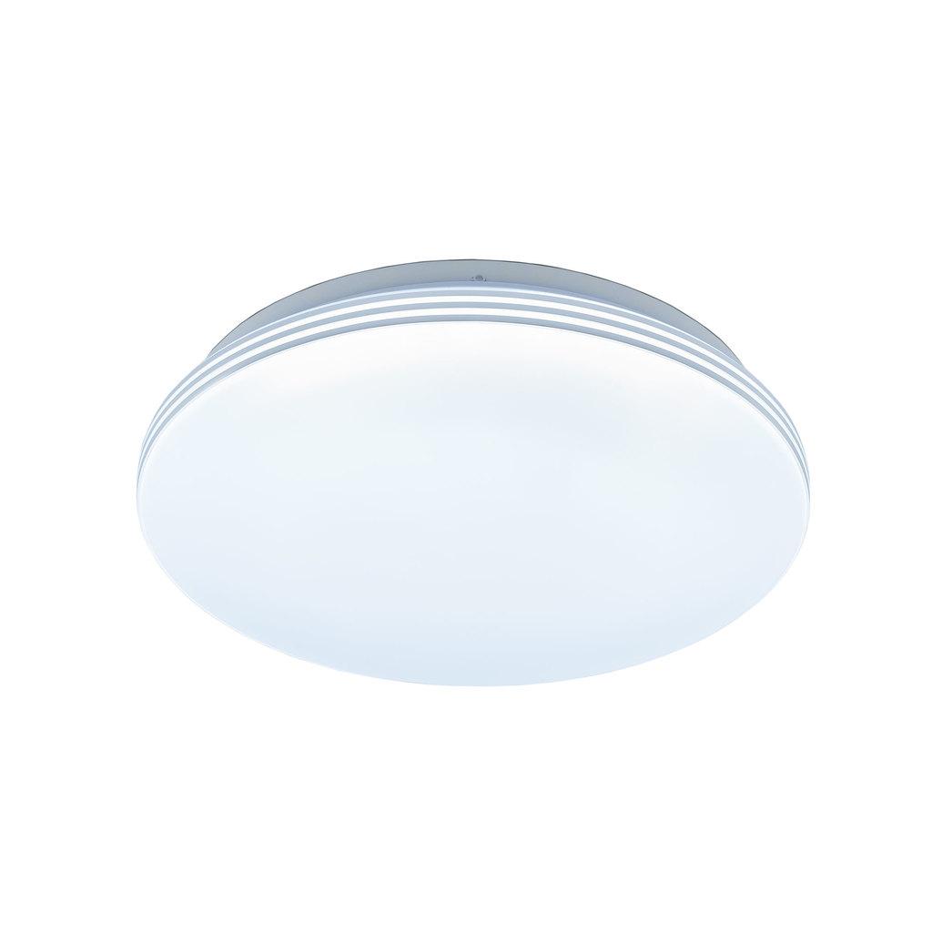 Потолочный светодиодный светильник Citilux Симпла CL714R18N, LED 18W 4000K 1300lm, белый, пластик - фото 1