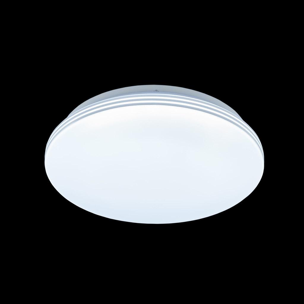 Потолочный светодиодный светильник Citilux Симпла CL714R18N, LED 18W 4000K 1300lm, белый, пластик - фото 2