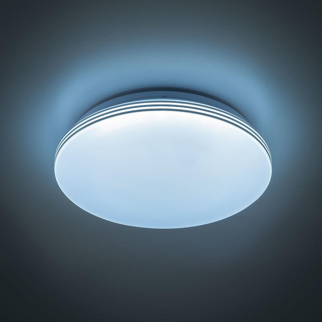 Потолочный светодиодный светильник Citilux Симпла CL714R18N 4000K (дневной), белый, металл, пластик - фото 3