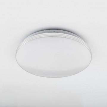 Потолочный светодиодный светильник Citilux Симпла CL714R18N, LED 18W 4000K 1300lm, белый, пластик - миниатюра 4