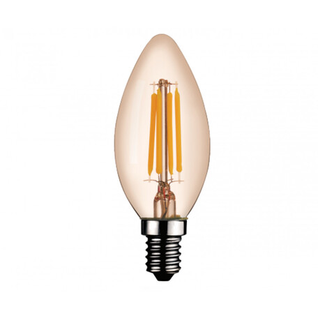 Филаментная светодиодная лампа Kink Light 098356,33 свеча E14 6W, 2700K (теплый) 220V