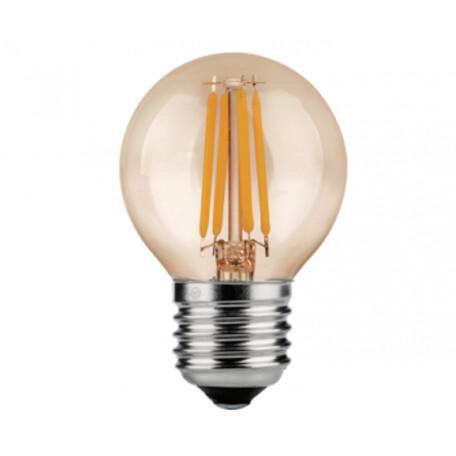 Филаментная светодиодная лампа Kink Light 098456,33 шар E27 6W, 2700K (теплый) 220V