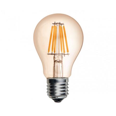 Филаментная светодиодная лампа Kink Light 098606,33 груша E27 6W, 2700K (теплый) 220V