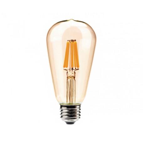 Филаментная светодиодная лампа Kink Light 098648,33 прямосторонняя груша E27 8W, 2700K (теплый) 220V