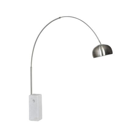 Торшер Kink Light Альфаси 7062,01, 1xE27x40W, белый, металл, мрамор