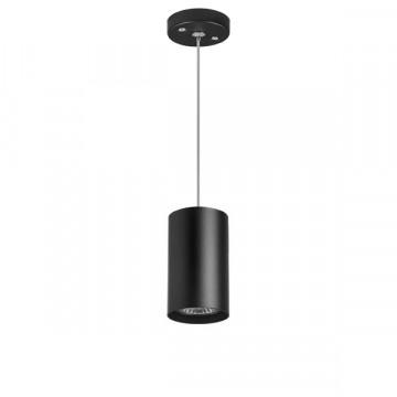 Подвесной светильник Lightstar Rullo RP437, 1xGU10x50W, черный, металл