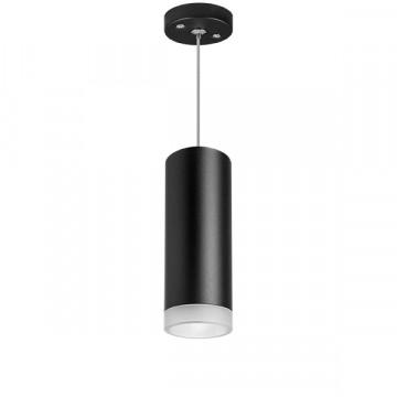 Подвесной светильник Lightstar Rullo RP48730, 1xGU10x50W, черный, металл
