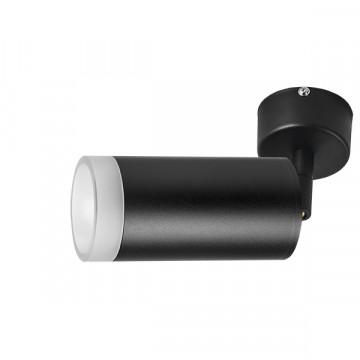 Потолочный светильник с регулировкой направления света Lightstar Rullo RB43730, 1xGU10x50W, черный, металл