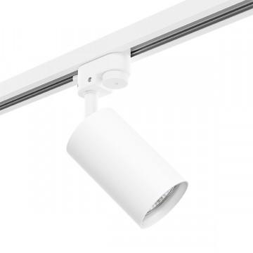 Светильник с регулировкой направления света для шинной системы Lightstar Rullo R1T436, 1xGU10x50W, белый, металл
