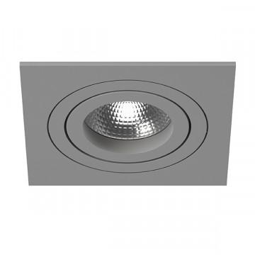 Встраиваемый светильник Lightstar Intero 16 i51909, 1xGU10x50W, серый, металл