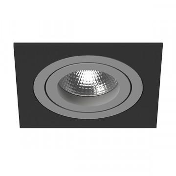 Встраиваемый светильник Lightstar Intero 16 i51709, 1xGU10x50W, черный, металл