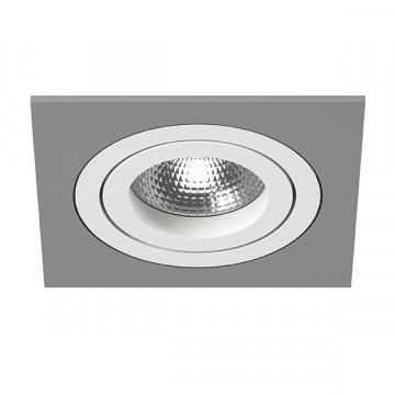 Встраиваемый светильник Lightstar Intero 16 i51906, 1xGU10x50W, серый, металл