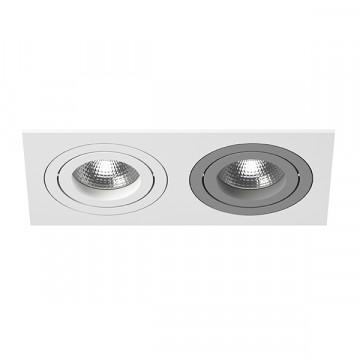 Встраиваемый светильник Lightstar Intero 16 i5260609, 2xGU10x50W, серый, металл