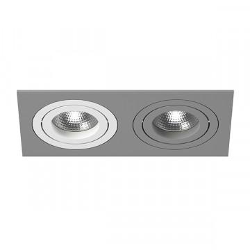 Встраиваемый светильник Lightstar Intero 16 i5290609, 2xGU10x50W, серый, металл