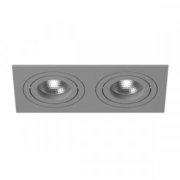 Встраиваемый светильник Lightstar Intero 16 i5290909, 2xGU10x50W, серый, металл