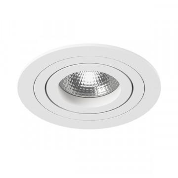 Встраиваемый светильник Lightstar Intero 16 i61606, 1xGU10x50W, белый, металл