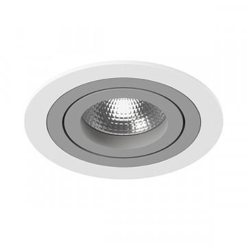 Встраиваемый светильник Lightstar Intero 16 i61609, 1xGU10x50W, серый, металл