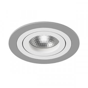 Встраиваемый светильник Lightstar Intero 16 i61906, 1xGU10x50W, серый, металл