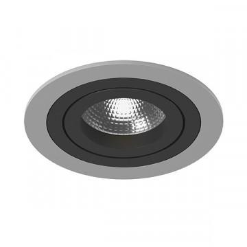 Встраиваемый светильник Lightstar Intero 16 i61907, 1xGU10x50W, черный, металл