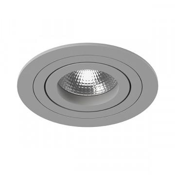 Встраиваемый светильник Lightstar Intero 16 i61909, 1xGU10x50W, серый, металл