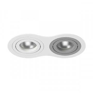 Встраиваемый светильник Lightstar Intero 16 i6260609, 2xGU10x50W, серый, металл