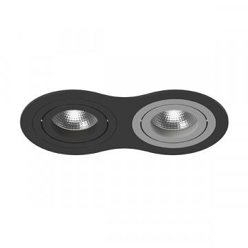 Встраиваемый светильник Lightstar Intero 16 i6270709, 2xGU10x50W, черный, металл