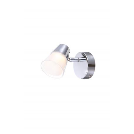 Настенный светодиодный светильник с регулировкой направления света Globo Tieka 56185-1, металл, пластик
