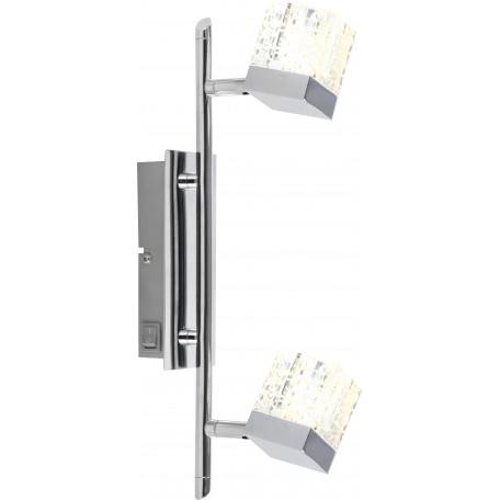 Настенный светодиодный светильник с регулировкой направления света Globo Ankara 56193-2, LED 10W 4200K, металл, стекло