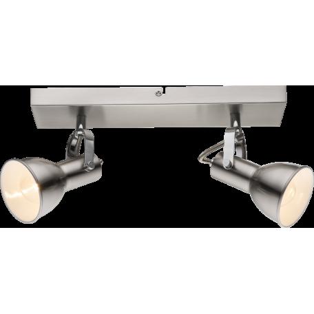 Потолочный светильник с регулировкой направления света Globo Fargo 54642-2, 2xE14x40W, металл