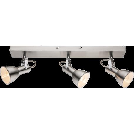 Потолочный светильник с регулировкой направления света Globo Fargo 54642-3, 3xE14x40W, металл