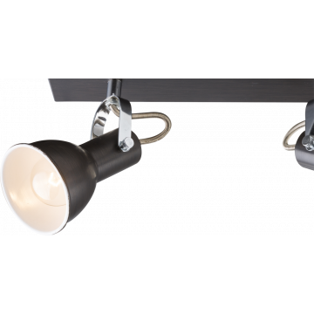 Потолочный светильник с регулировкой направления света Globo Xenia 54643-2, 2xE14x40W, металл