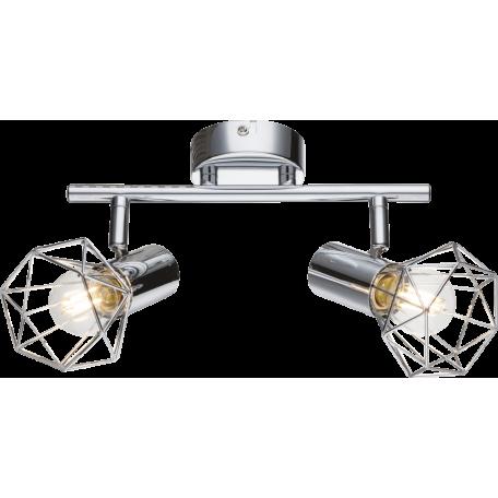 Потолочный светильник с регулировкой направления света Globo Xara I 54802-2, 2xE14x40W, металл