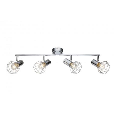 Потолочный светильник с регулировкой направления света Globo Xara I 54802-4, 4xE14x40W, металл