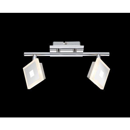 Потолочный светодиодный светильник с регулировкой направления света Globo Gerolf 56111-2, LED 10W 3000K, металл, металл с пластиком