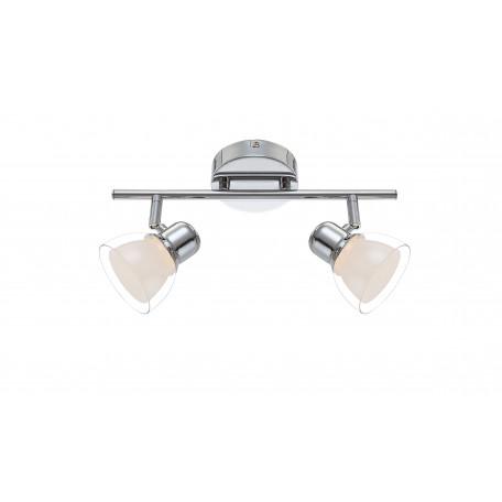 Потолочный светодиодный светильник с регулировкой направления света Globo Nashville 56182-2, LED 8W 3200K, металл, пластик
