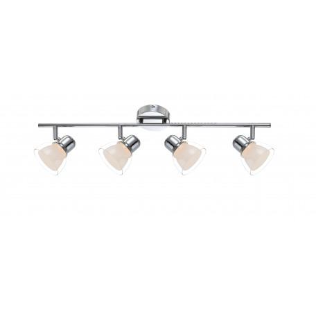 Потолочный светодиодный светильник с регулировкой направления света Globo Nashville 56182-4, металл, пластик