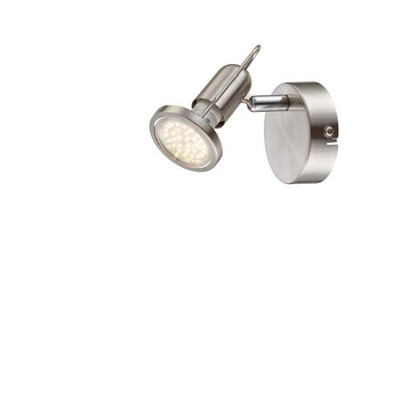 Настенный светильник с регулировкой направления света Globo Rail 54382-1, 1xGU10x3W, металл
