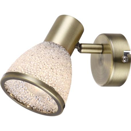 Настенный светильник с регулировкой направления света Globo Elsa 56046-1, 1xE14x4W, металл, пластик