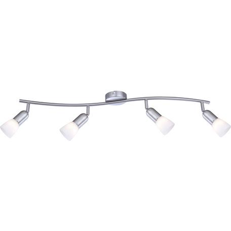 Потолочный светильник с регулировкой направления света Globo Cathy 5453-4, 4xE14x40W, металл, стекло
