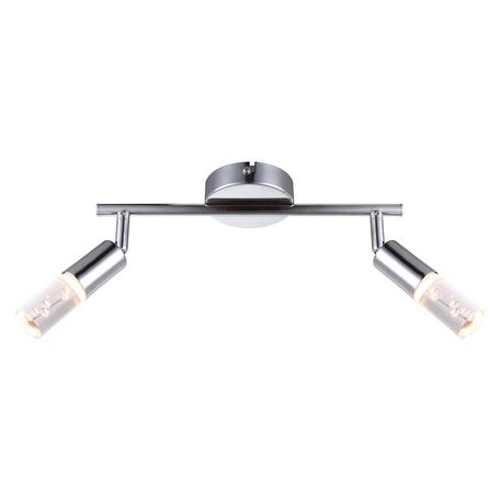 Потолочный светодиодный светильник с регулировкой направления света Globo Peru 56199-2, металл, пластик