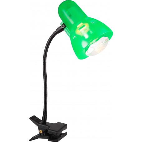 Светильник на прищепке Globo Clip 54854, 1xE14x40W, металл, пластик