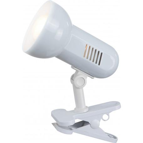 Светильник на прищепке Globo Basic 5496, 1xE27x40W, пластик, металл