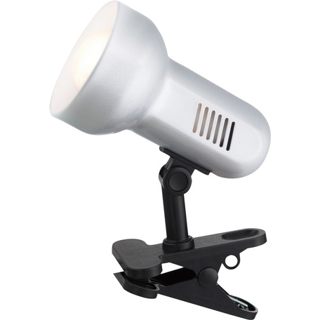 Светильник на прищепке Globo Basic 5497, 1xE27x40W, пластик, металл