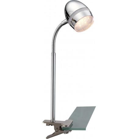 Светодиодный светильник на прищепке Globo Manjola 56206-1K, LED 3W 3000K, металл