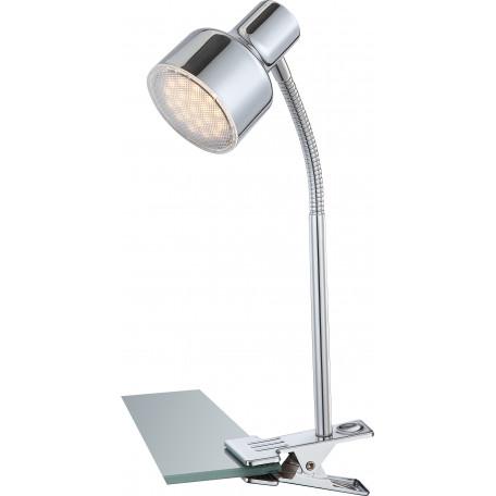 Светодиодный светильник на прищепке Globo Rois 56213-1K, LED 4W 3000K, металл
