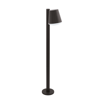 Садово-парковый светильник Eglo Caldiero 97147, IP44, 1xE27x10W, серый, металл, пластик